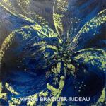 Pétales Abstraites 828-40x40