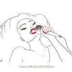 Donna Summer-Format A4-Vendue