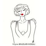 Femme à la Cigarette-Format A4-Réservée