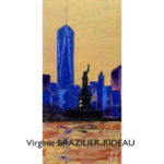 Ground Zero & Miss Liberty-20x40