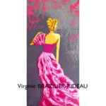 Silhouette Couture Rose-30x60-50€