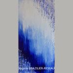 Abstrait Bleu 649-30x60cm-180€