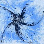 Pétales Abstraites 359-30x30-Vendu