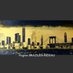 Manhattan Gold & Black-100x50-Réservé