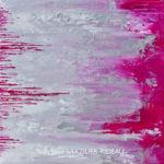 Abstrait Rose 399-40x40cm-160€