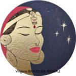 L'Étoile du Népal-32cmØ-Au profit de Galettes d'Artistes/AO France-Népal