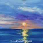 Coucher de Soleil sur l'Ile d'Aix-Format F8