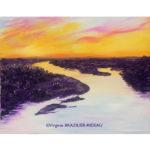 La Loire vue du Ciel-Format F12(61x50cm)-300€